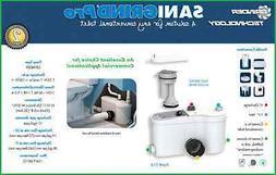 Saniflo 014 SANIGRIND Grinder Pump for Bottom Outlet Toilets