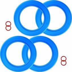 4 Packsa Flush Valve Seal Kit For American Standard Toilets,