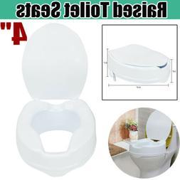 "4"" Portable Medical Elevated Elongated Elderly Raised Toilet"