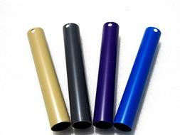 4 Toilet flush valve extension tubes. Outer diameter of tube