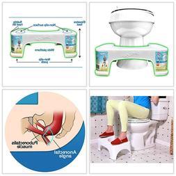 "7"" Toilet Squatty Proper Posture Step Go Stool Potty Squat B"
