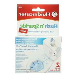 Fluidmaster 8102P8 Flush 'n Sparkle Automatic Toilet Bowl Cl
