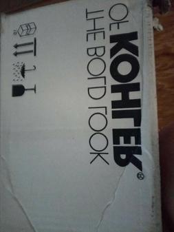 Bidet Toilet seat - Kohler 5724-0 /Plastic/White/Elongated