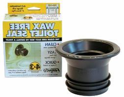 Fernco FTS-4CF Wax-Free Toilet Gasket To Slab Flange-4X3 WAX