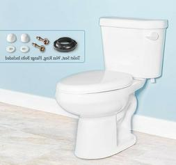 Gele 4623 Standard Height Two Piece Elongated Toilet w/ Soft