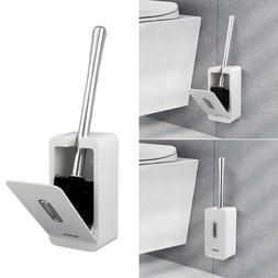 Home Toilet Brush Set Thicken Steel Toilet Bowl Cleaner Brus