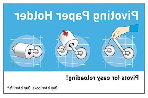 0Iso Toilet Paper Holder - Finish: