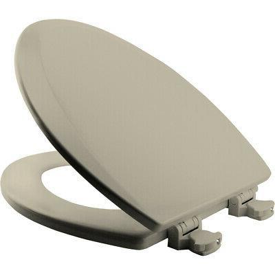 Bemis 1500EC Elongated Molded Wood Seat