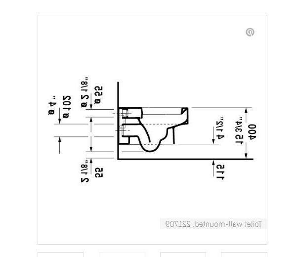 Duravit wall-mountedwashdown cUPC - White
