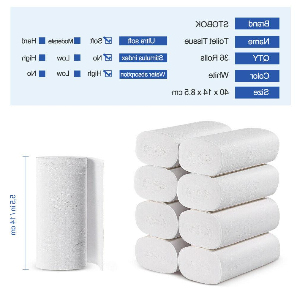 36 Paper Bath Tissue Home USA
