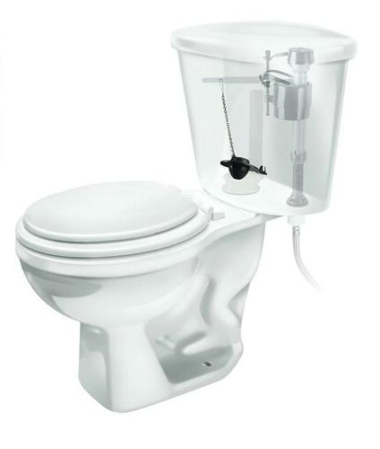 506 2 inch universal flexible frame toilet