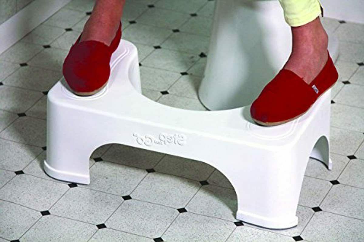 Posture Step Go Stool Potty Squat Bathroom Health