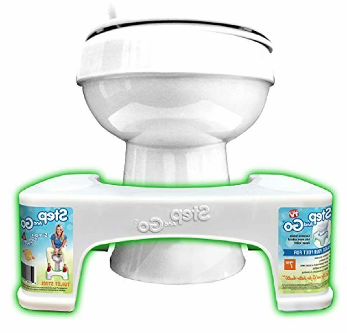 """7"""" Toilet Posture Step Go Potty Squat"""