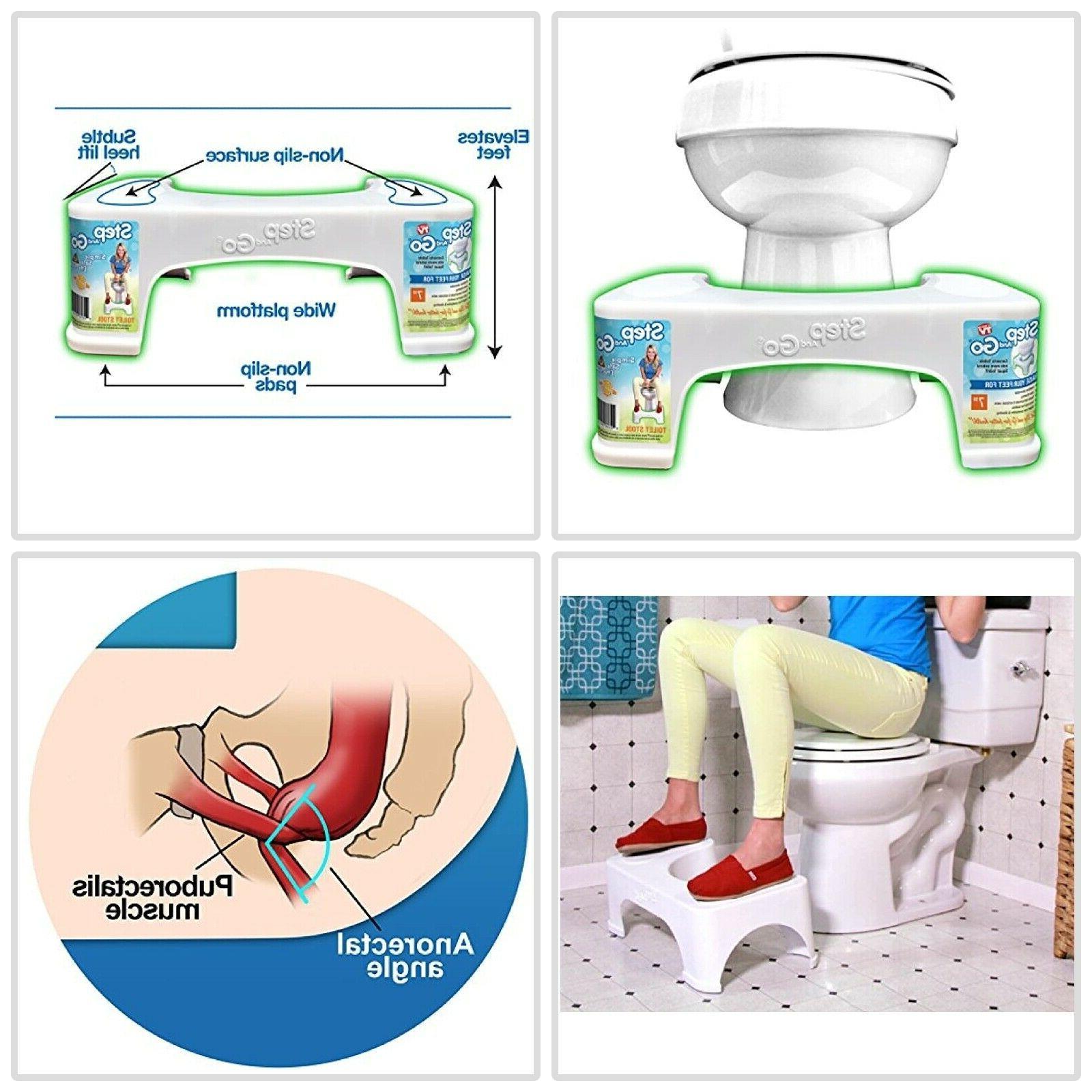 7 toilet squatty proper posture step go