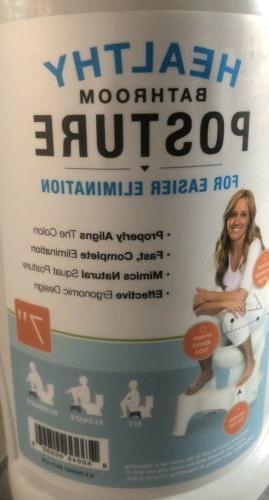 "7"" Toilet Posture Potty Squat Home Health"