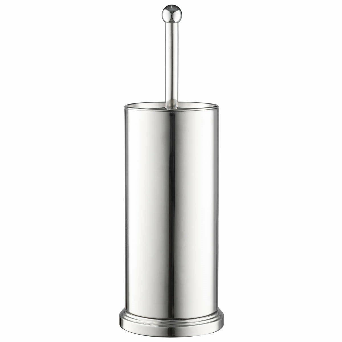 Chrome Brush Vented Stainless Steel Bowl cleaner Lid