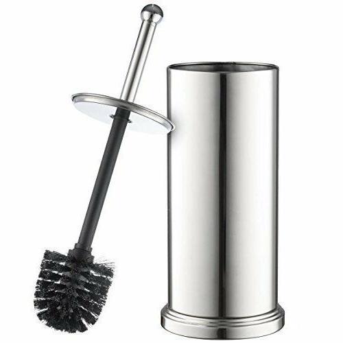 chrome toilet brush set vented stainless steel