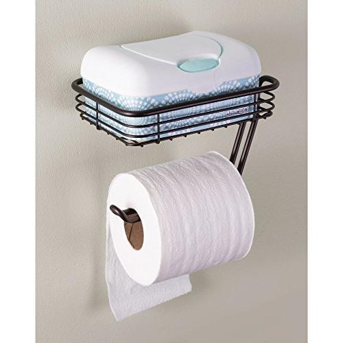 InterDesign Toilet Holder with Wall Mounted for