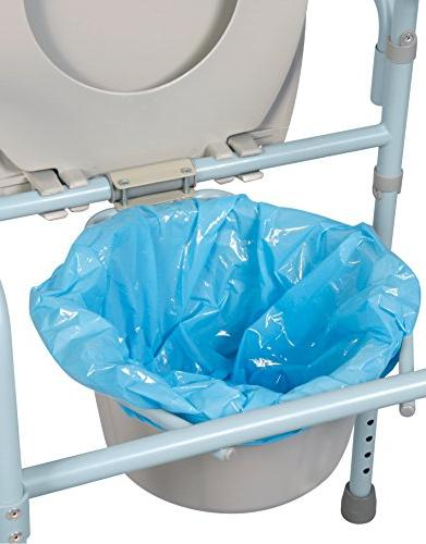 Carex Brands Commode Liners, 7 Count