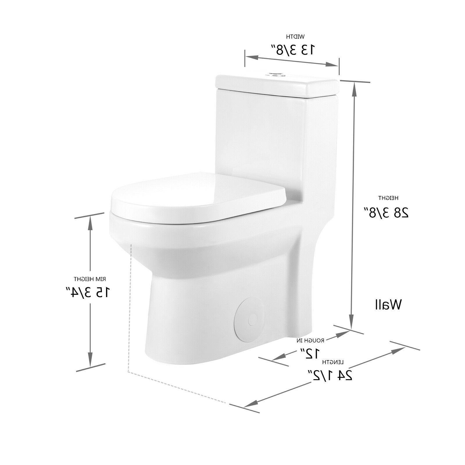 DeerValley Dual Flush Elongated for Closet