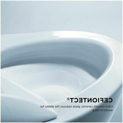 TOTO CT426CFG Mounted Toilet - White