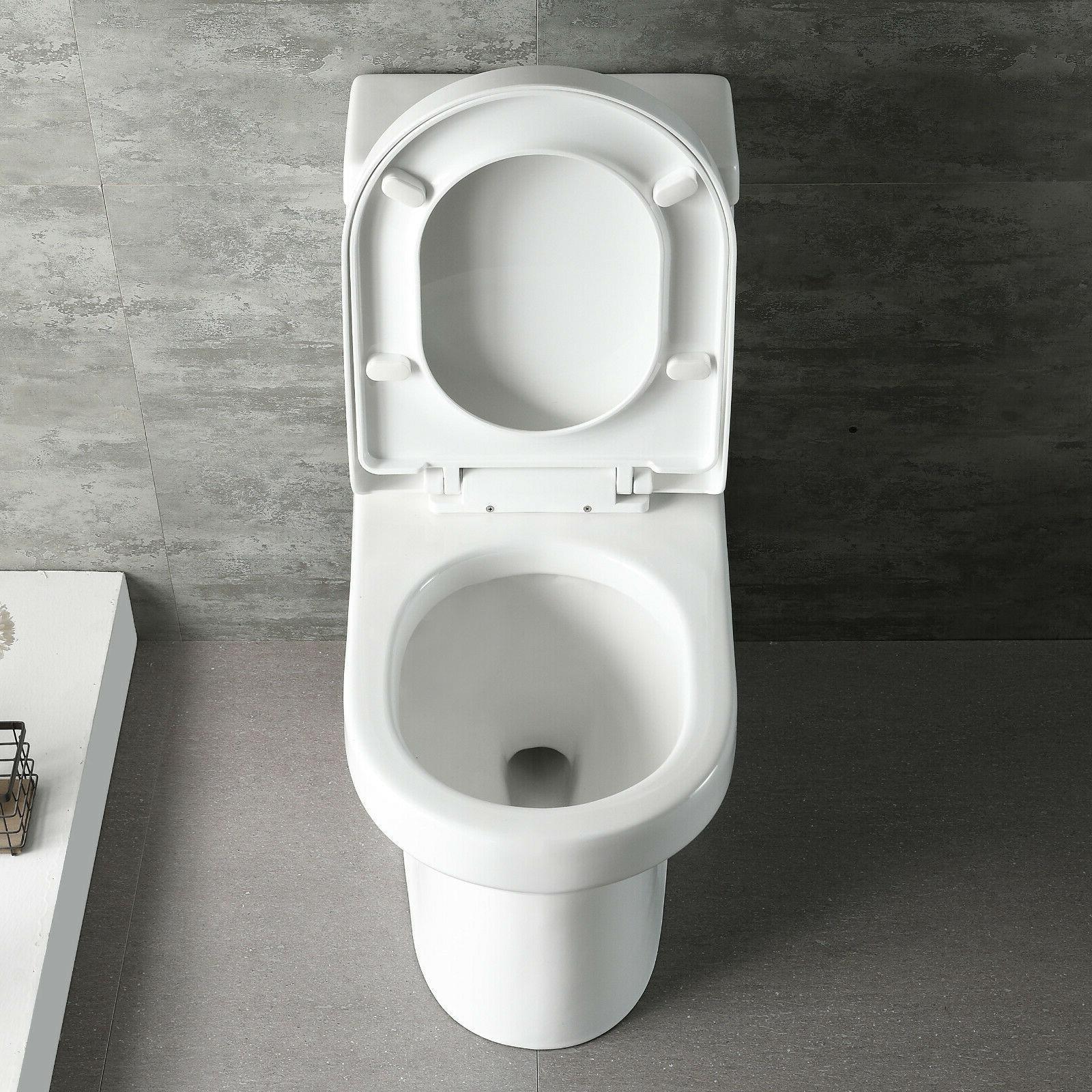 DeerValley Mini Flush Piece Elongated Toilet