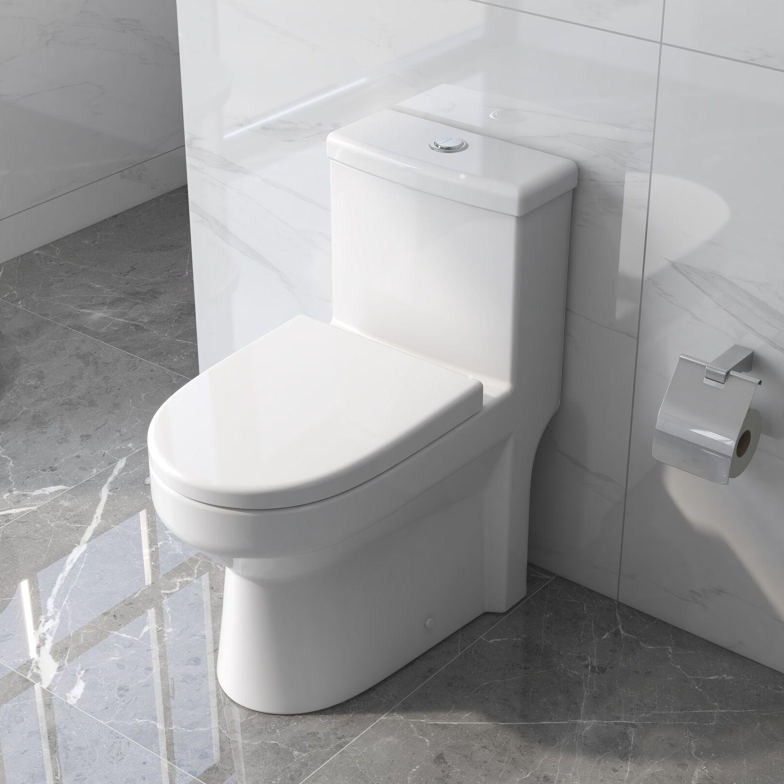 deervalley mini compact dual flush one piece