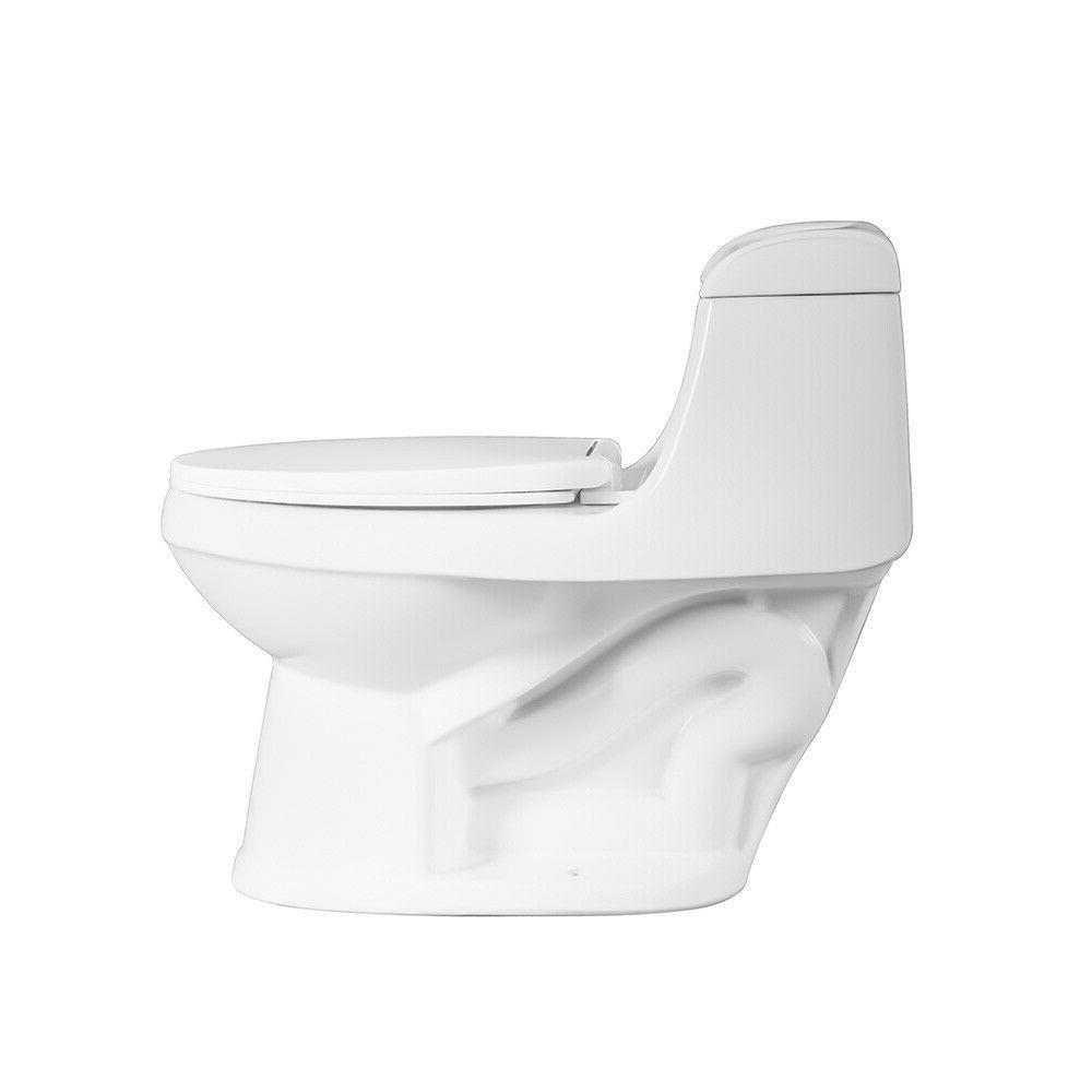 DeVille Round One Toilet w/ Soft White