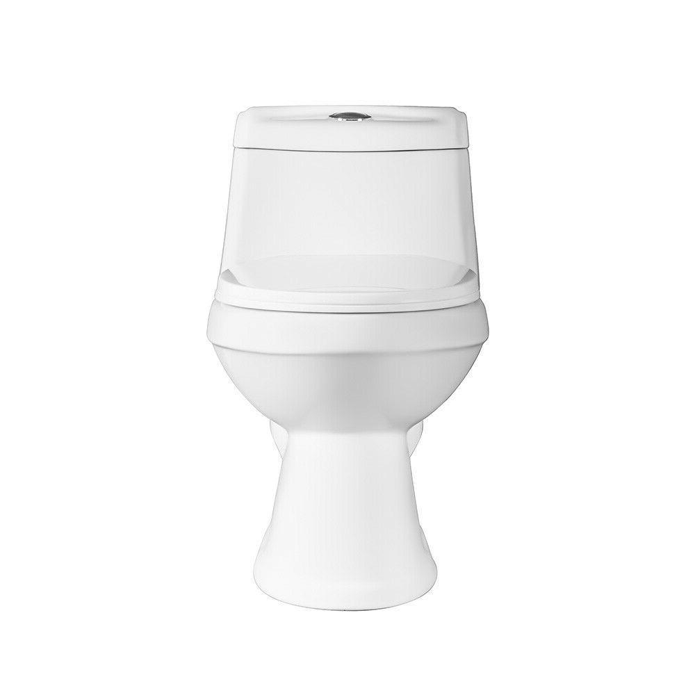 DeVille 6812W Front One Piece Toilet Soft