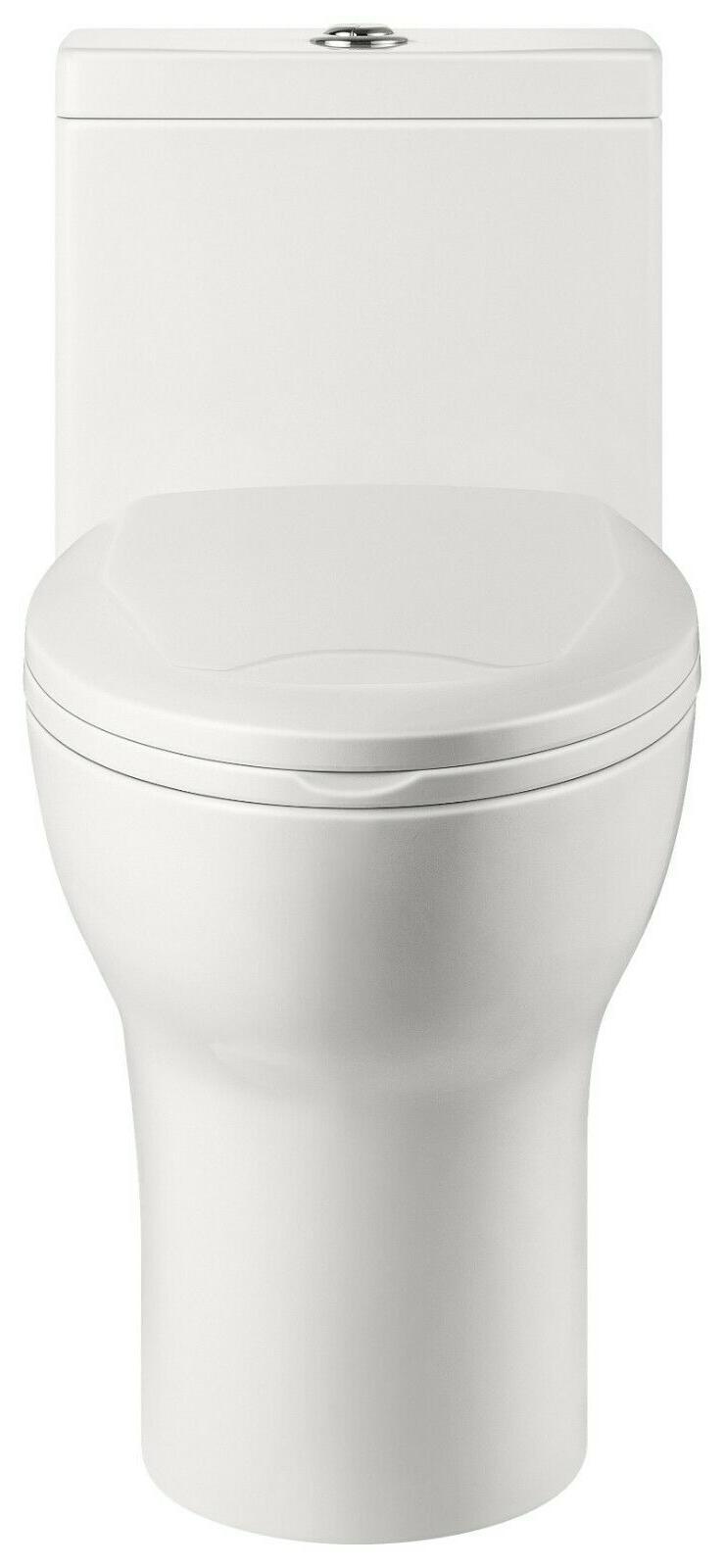 DeerValley Elongated Porcelain Toilet w/ Closing