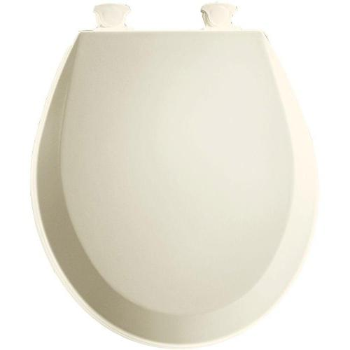 Bemis Easy Clean Change Round Front Molded Wood Toilet Seat