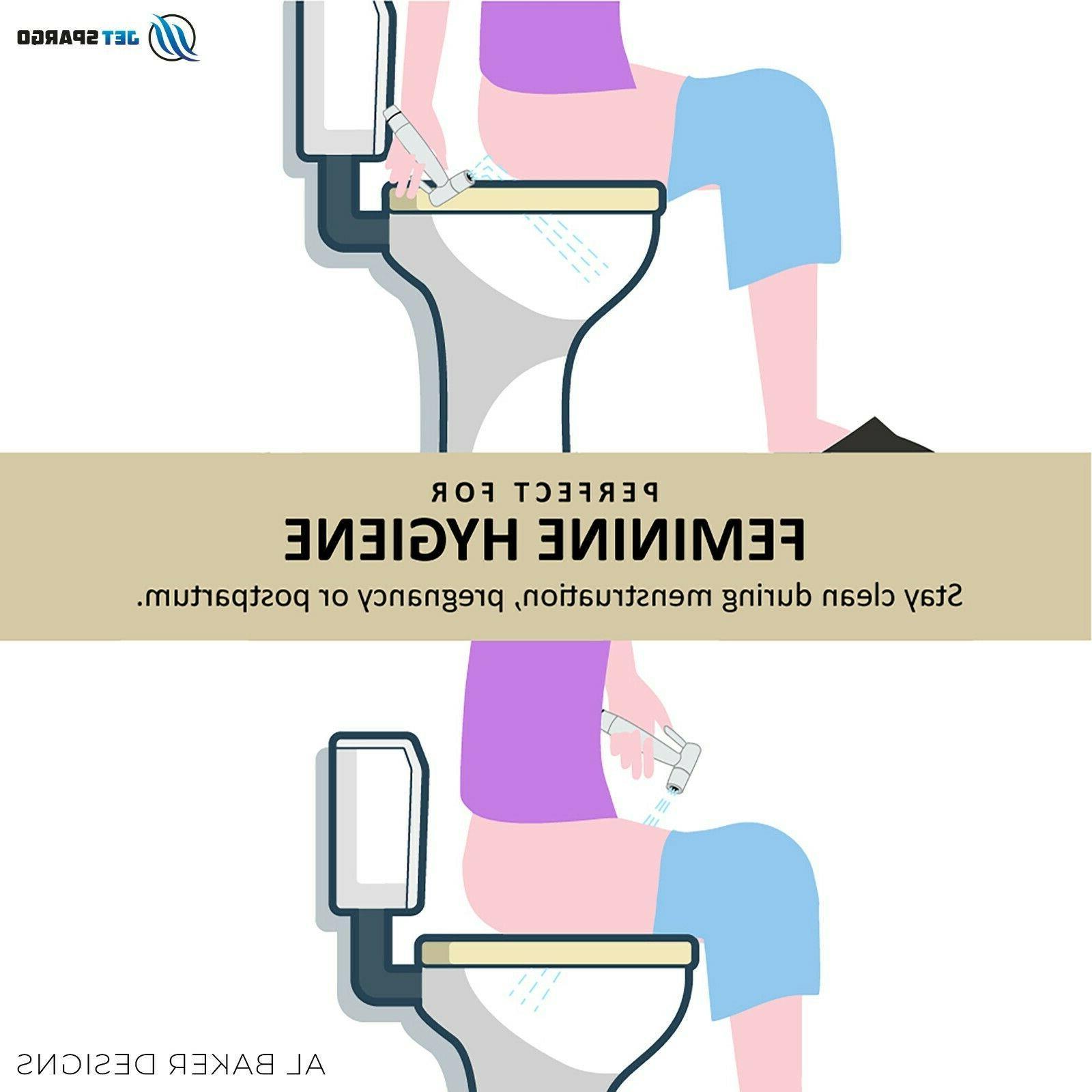 JET SPARGO Hand Toilet Bathroom Shower Kit Adaptor