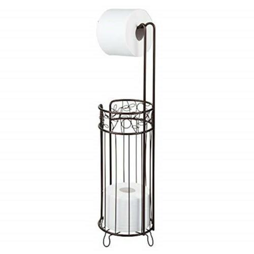 interdesign twigz free standing toilet paper holder