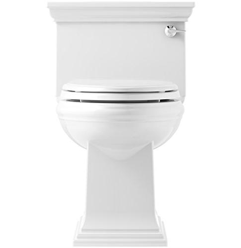KOHLER Comfort One-Piece Compact Elongated 1.28 GPF Toilet with Technology Trip Lever,