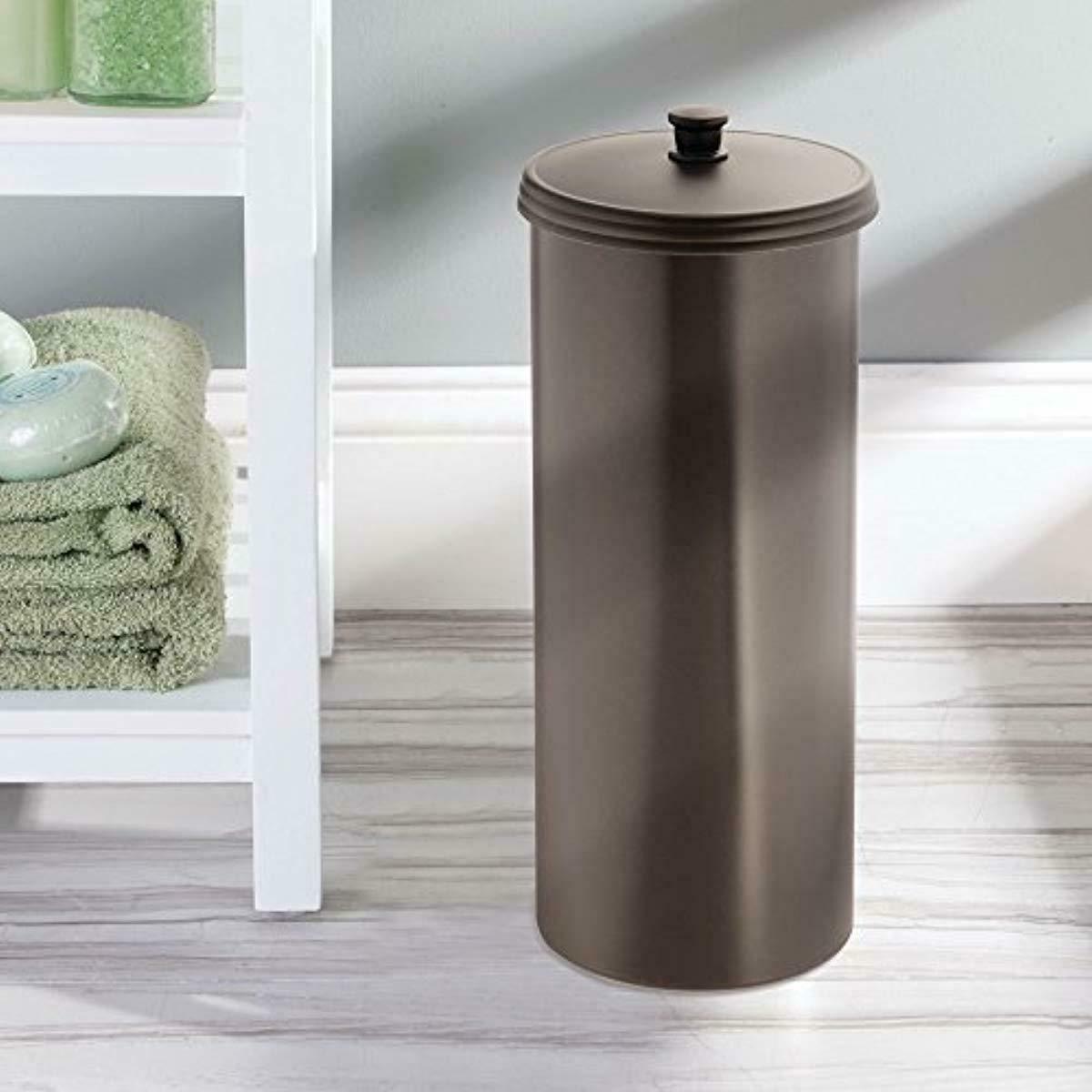 iDesign Kent Toilet Tissue Roll Vertical Free