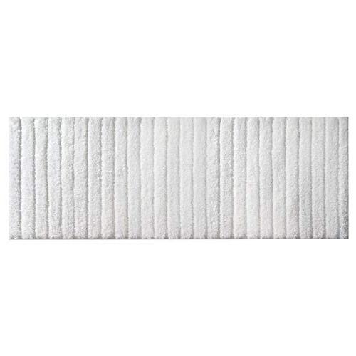 mDesign Soft Non-Slip Bathroom Set for Vanity, Dorm - Set of White