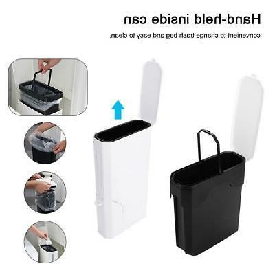 Narrow Toilet Brush Dustbin Storage Box Container 3L