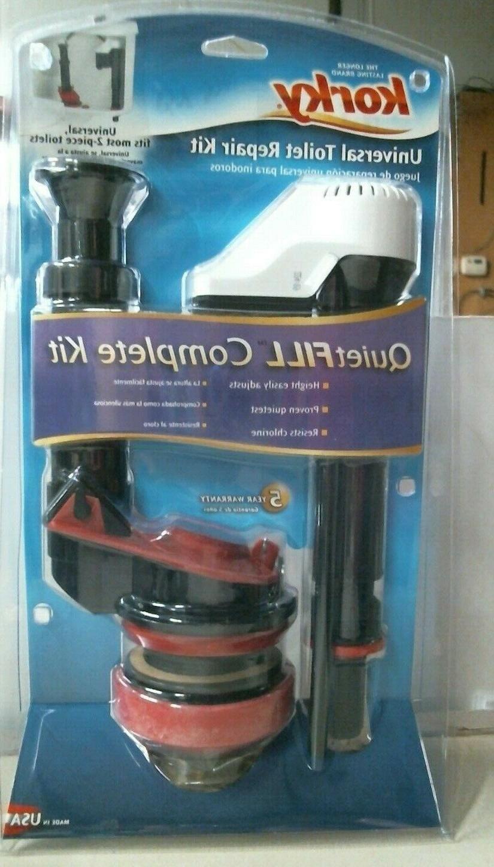 no 4010 universal toilet repair kit quietfill