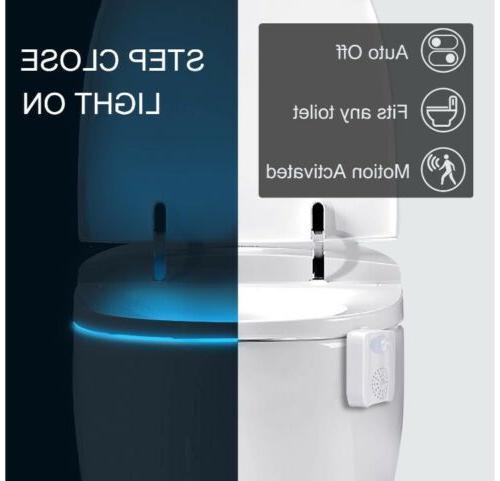TBMax Toilet Bowl Light Sensor Disinfect Kids