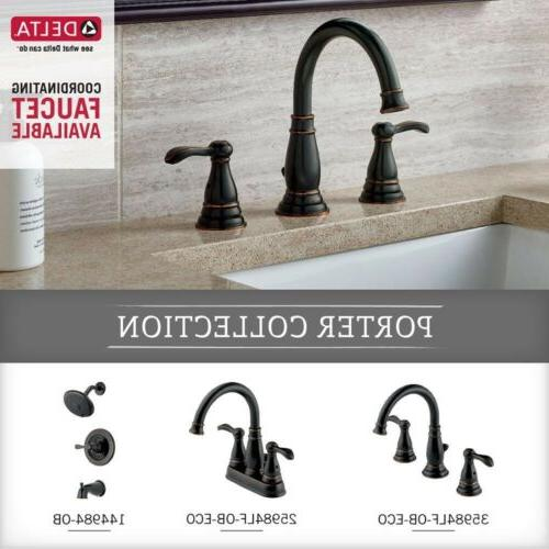 Toilet Handle Rubbed Bronze Porter Universal Easy Traditional