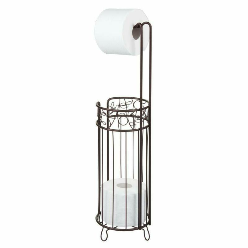 iDesign Twigz Bath, Free Standing Toilet Paper Roll Holder f