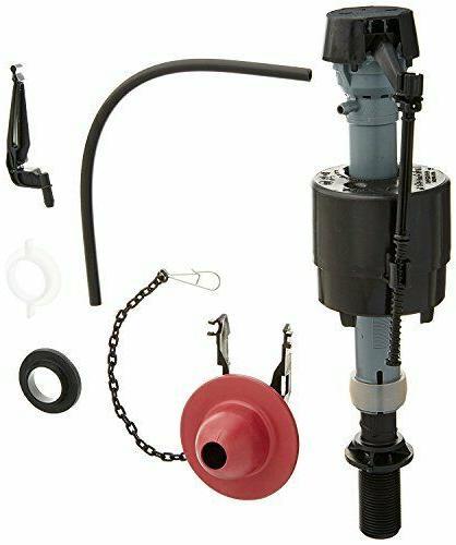 universal toilet fill valve flapper repair kit