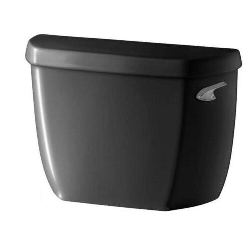 KOHLER Wellworth Toilet & Flushing 1.28GPF Tank Black