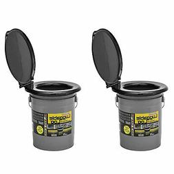 Reliance Products Luggable Loo Portable Lightweight 5gal Toi