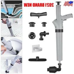 Powerful High Pressure Air Drain Blaster Plunger Toilet Sink