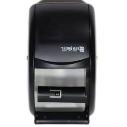 San Jamar R3500 Duett Dual Roll Standard Toilet Paper Dispen