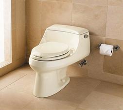 Kohler San Raphael 1pc. elongated 1.0 gpf toilet ALMOND. JUS