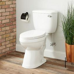 Stalnaker Siphonic Elongated Two Piece Toilet Standard Seat