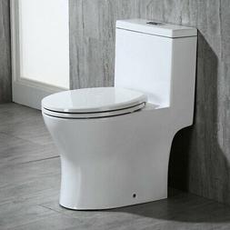 WOODBRIDGE T-0032,Elongated One Piece Toilet Dual Flush 1.0/