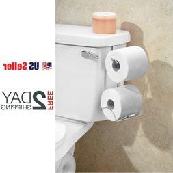 Tank Toilet Paper Holder 2 Roll Bathroom Storage Organizer S